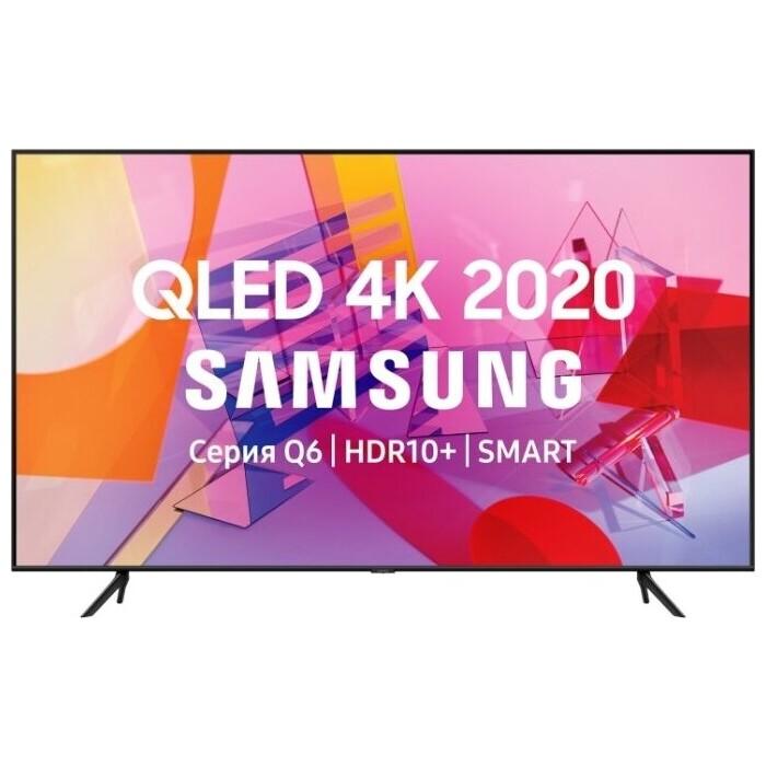 Фото - QLED Телевизор Samsung QE75Q60TAU qled телевизор samsung qe55q90tau
