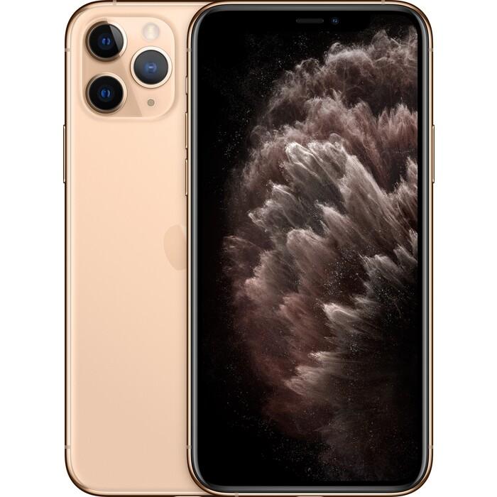 Смартфон Apple iPhone 11 Pro 512Gb Gold (MWCF2RU/A) док станция apple для apple gold ml8k2zm a
