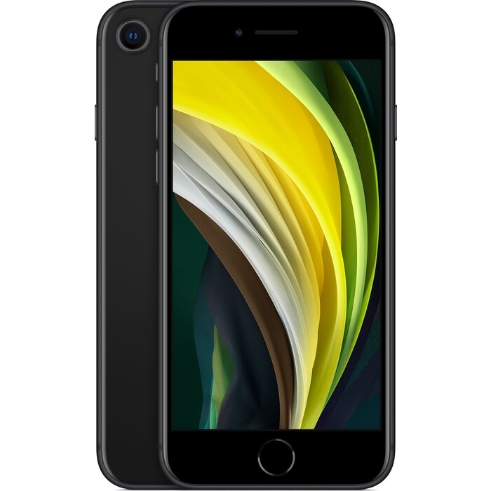 Смартфон Apple iPhone SE (2020) 128Gb Black (MXD02RU/A)