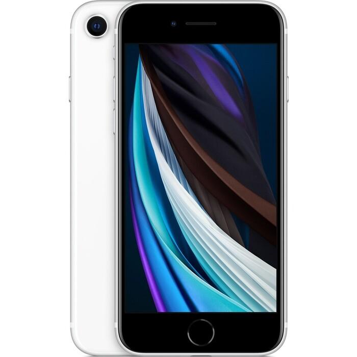 Смартфон Apple iPhone SE (2020) 128Gb White (MXD12RU/A)