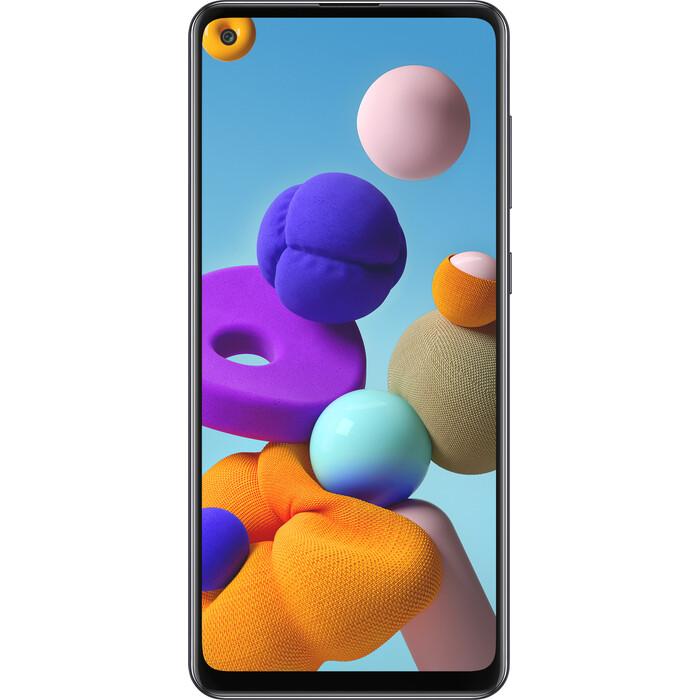 Смартфон Samsung Galaxy A21s 4/64Gb черный смартфон samsung galaxy a21s 4 64gb синий