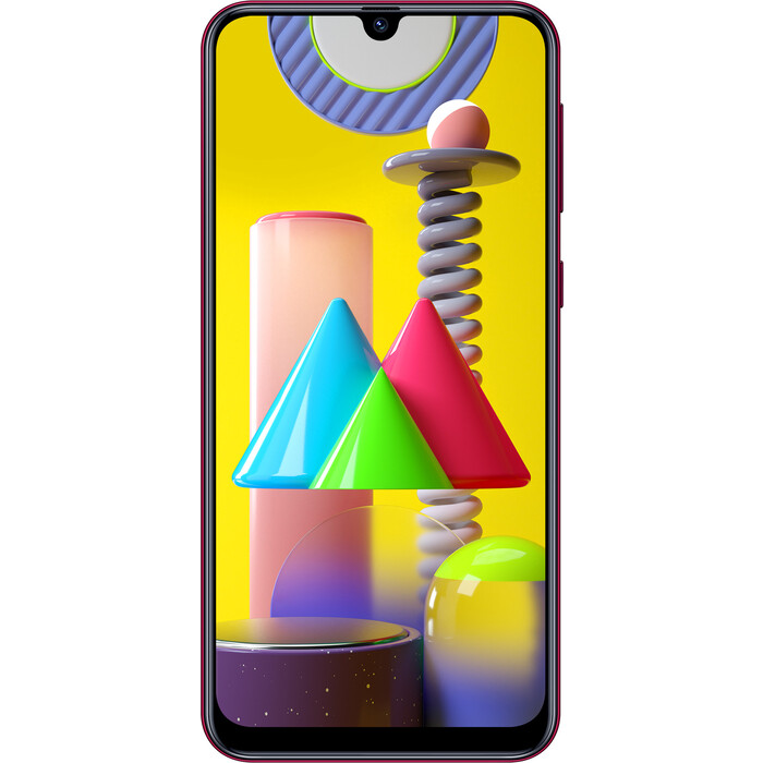 Смартфон Samsung Galaxy M31 6/128Gb 6Gb Красный смартфон samsung galaxy m31 128gb black