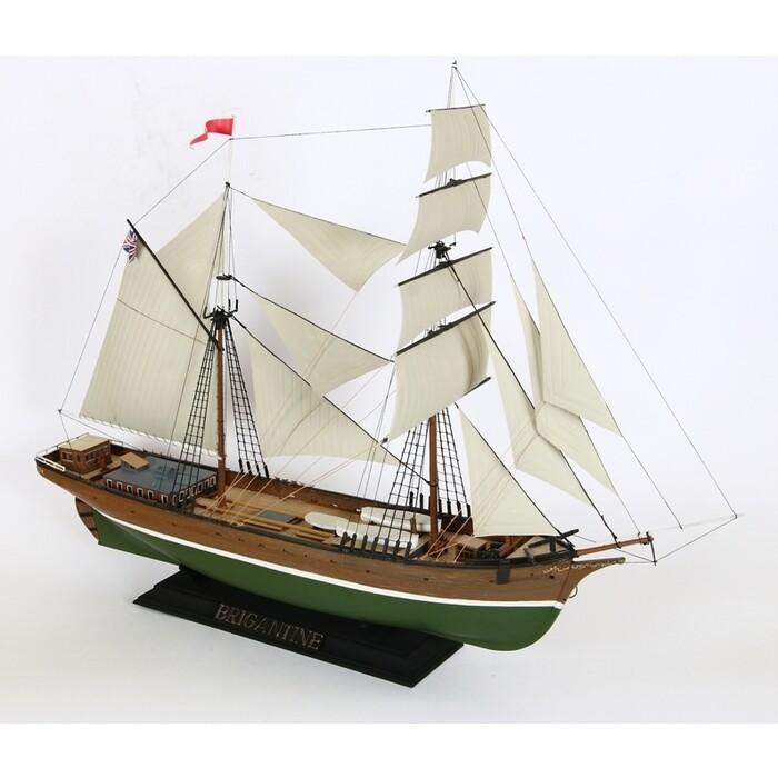 Сборная модель Звезда Бригантина, подарочный набор, 1/100 - ZV 9011П
