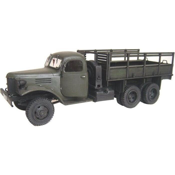 Сборная модель Звезда Грузовик ЗиС - 151, масштаб 1:35, ZV - 3541 сборная модель zvezda советский грузовик 4 5 тонны зис 151 3541 1 35