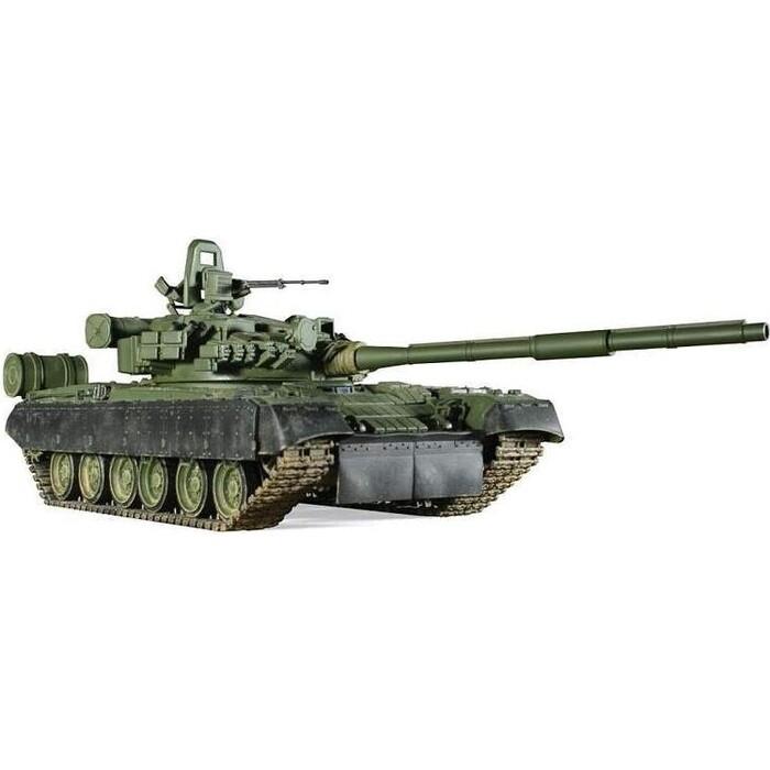 Сборная модель Звезда Основной боевой танк Т - 80БВ, подарочный набор, 1/35 ZV 3592П