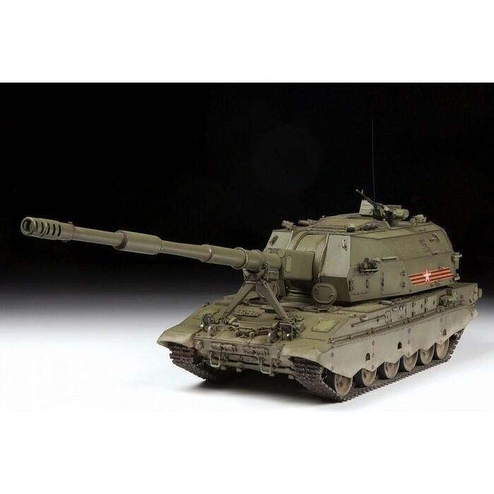 Сборная модель Звезда Российская 152 - мм гаубица 2С35 Коалиция СВ, 1/35 ZV 3677