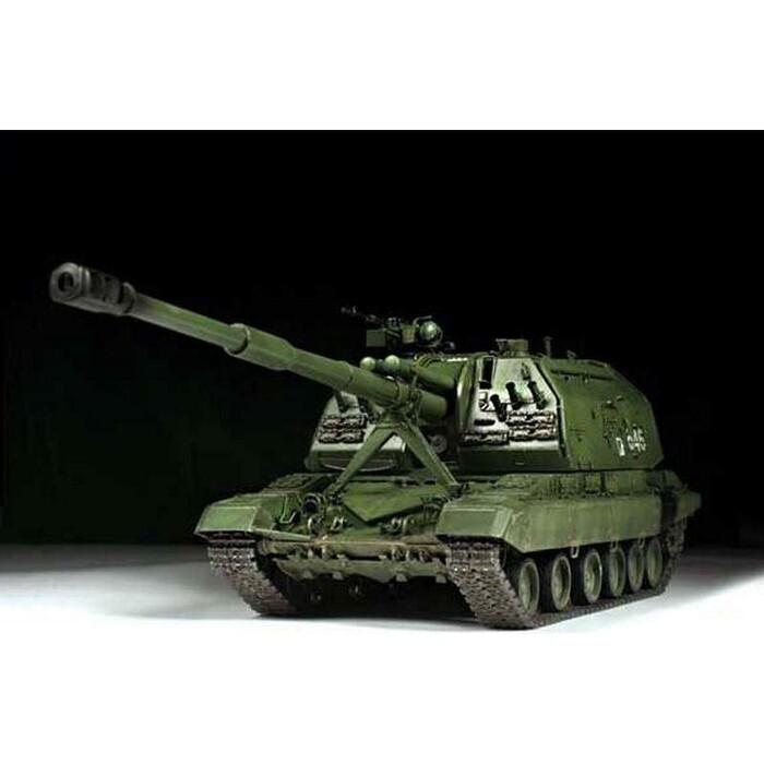 Сборная модель Звезда Российская самоходная 152 - мм артиллерийская установка Мста С, 1/35 ZV 3630