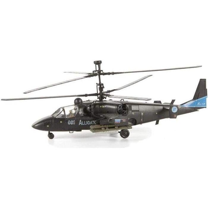 Сборная модель Звезда Российский боевой вертолет Аллигатор, подарочный набор, 1/72 - ZV 7224П