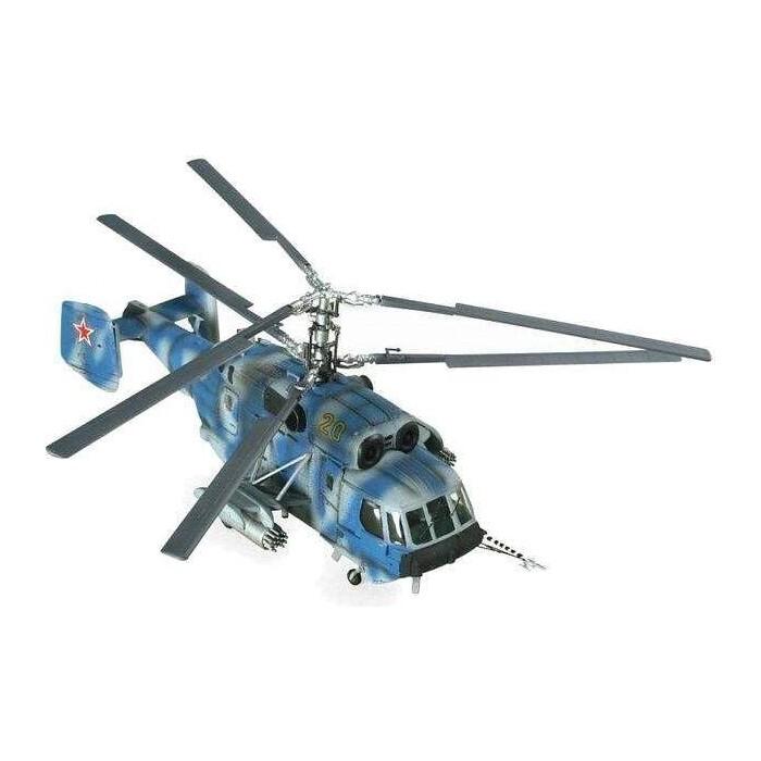 Сборная модель Звезда Российский вертолет огневой поддержки морской пехоты, подарочный набор, 1/72 - ZV 7221П