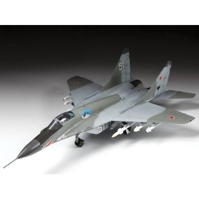 Сборная модель Звезда Российский истребитель МиГ - 29 (9 13), подарочный набор, 1/72 ZV 7278П