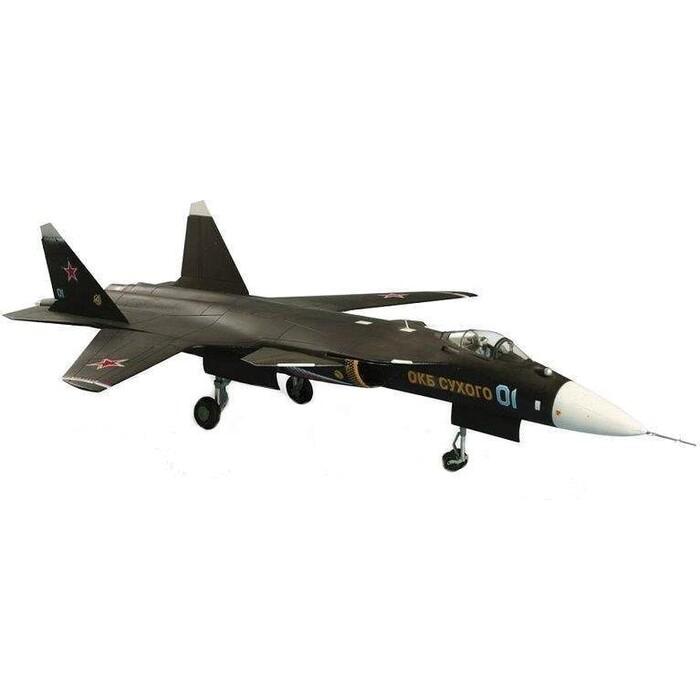 Сборная модель Звезда Российский истребитель пятого поколения Су - 47 Беркут, подарочный набор, 1/72 - ZV - 7215П