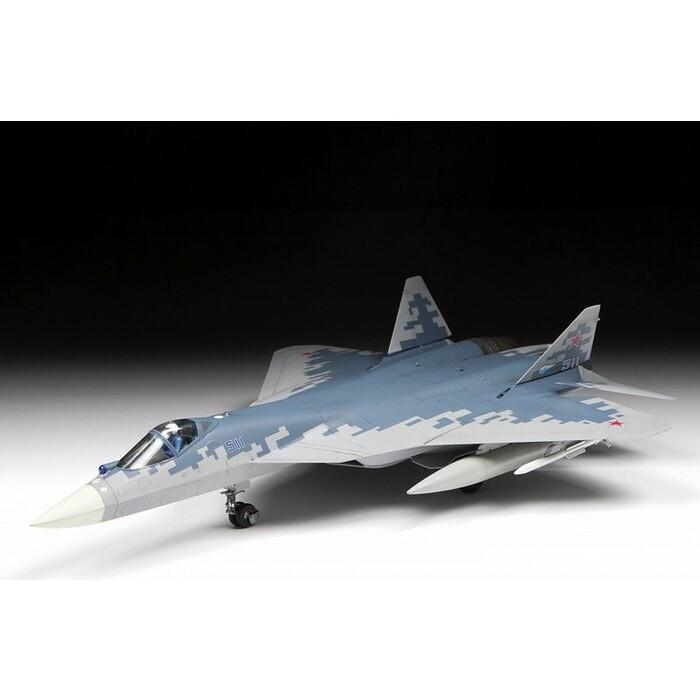 Сборная модель Звезда Российский истребитель пятого поколения Су - 57, 1/72 ZV 7319