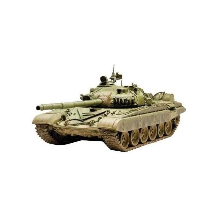 Фото - Сборная модель Звезда Российский основной боевой танк Т - 72А, 1/35 - ZV - 3552 сборная модель звезда российский бронетранспортер бтр 80 1 35 zv 3558
