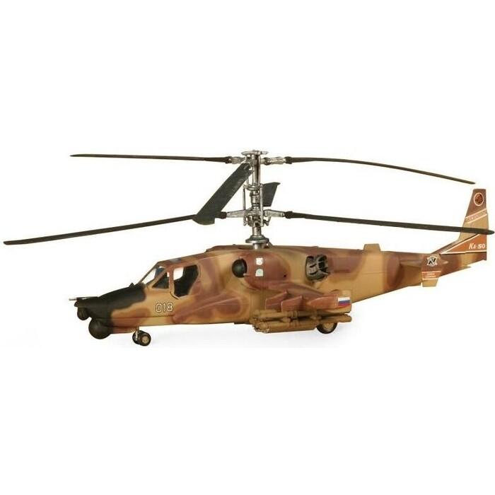 Сборная модель Звезда Российский ударный вертолет Ночной охотник, подарочный набор, 1/72 - ZV 7272П