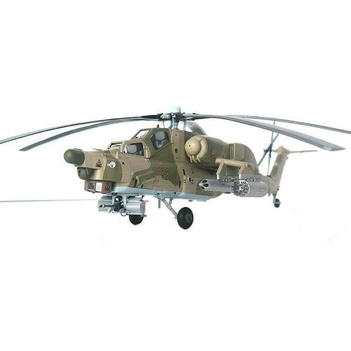 Сборная модель Звезда Российский ударный вертолет Ми - 28НЭ Ночной охотник, 1/72 ZV 7255