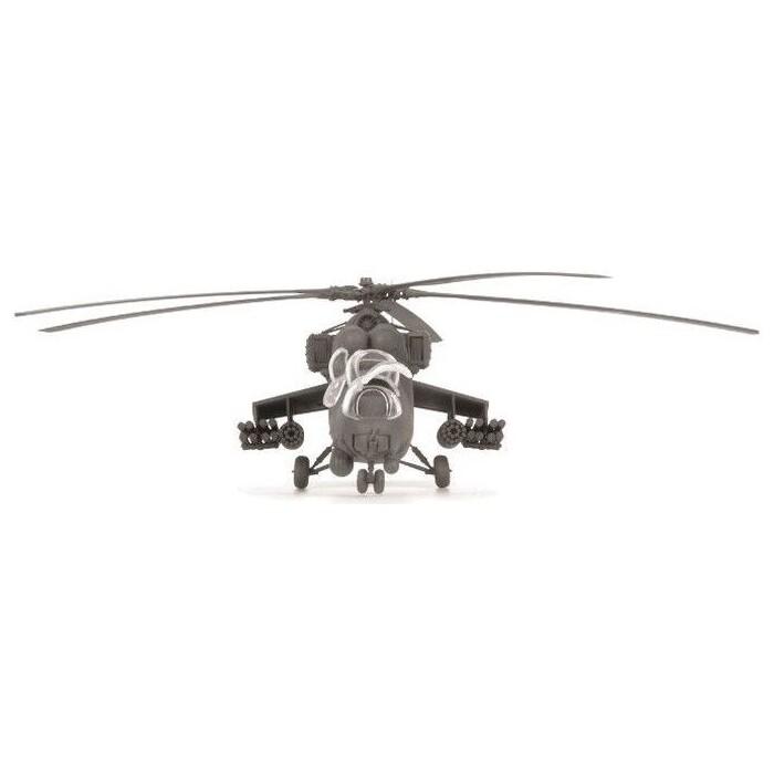 Сборная модель Звезда Российский ударный вертолет Ми - 35М, подарочный набор, 1/72 ZV 7276П
