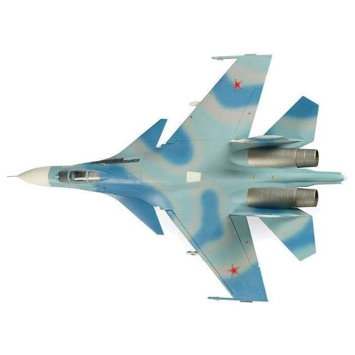 Сборная модель Звезда Советский истребитель Су - 27, подарочный набор, 1/72 ZV 7206П