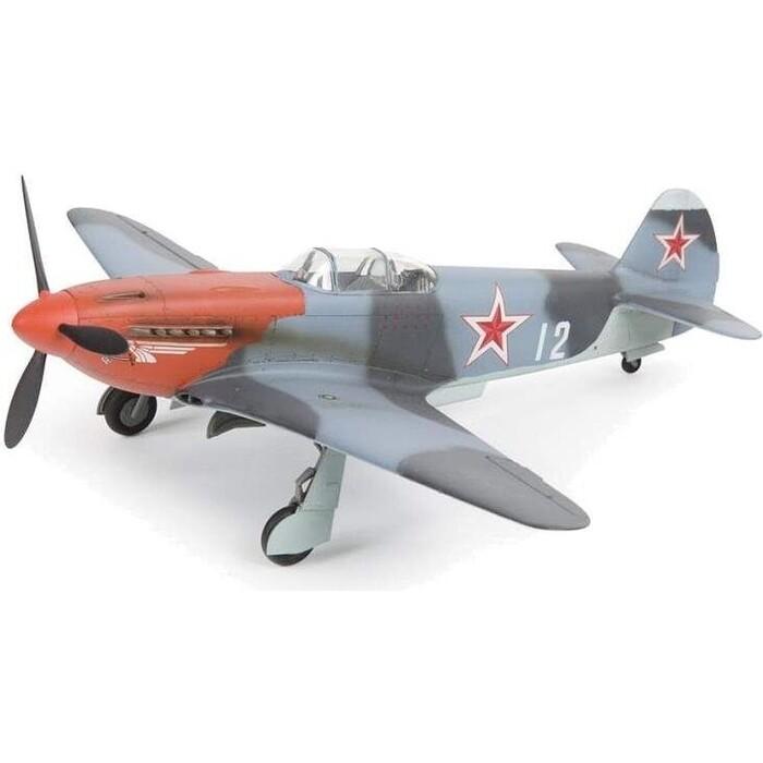 Сборная модель Звезда Советский истребитель Як - 3, подарочный набор, 1/48 ZV 4814П
