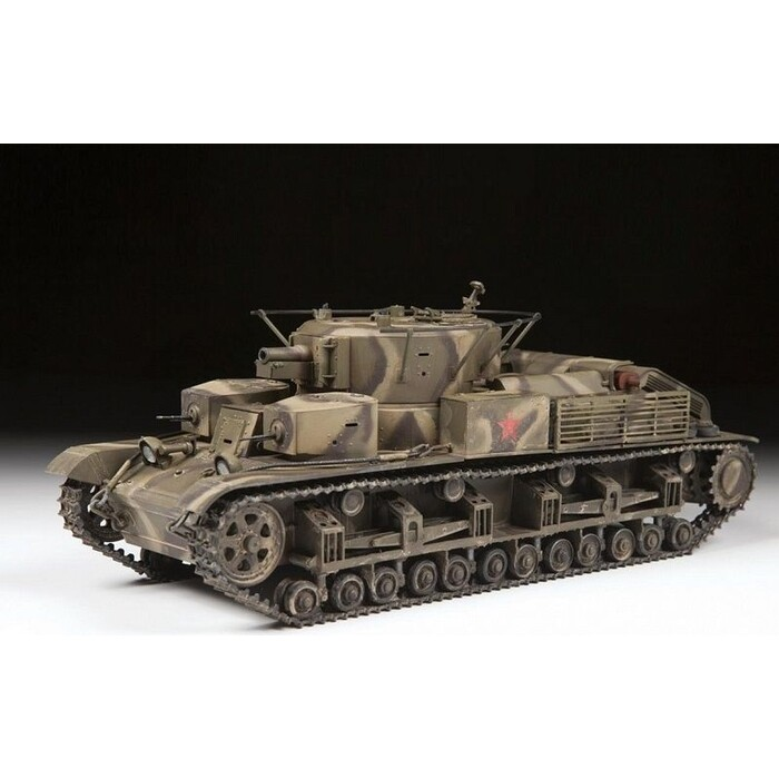 Сборная модель Звезда Советский средний танк Т - 28, 1/35 ZV 3694