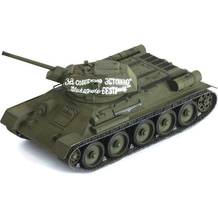 Сборная модель Звезда Советский средний танк Т - 34/76 (обр. 1942 г.), 1/35 ZV 3535