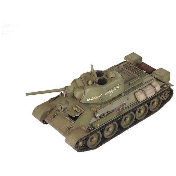 Сборная модель Звезда Советский средний танк Т - 34/76 1943 УЗТМ, 1/35 ZV 3689