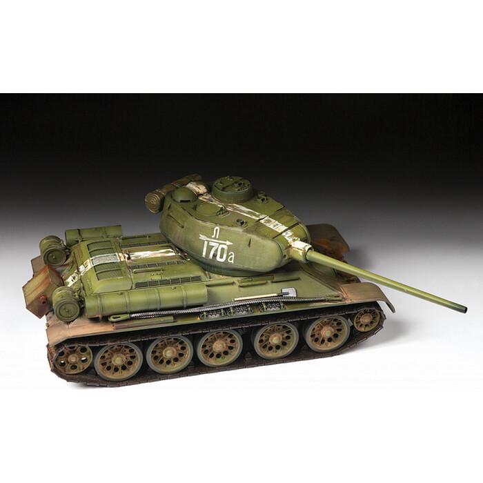 Сборная модель Звезда Советский средний танк Т - 34/85, подарочный набор, 1/35 ZV 3687П