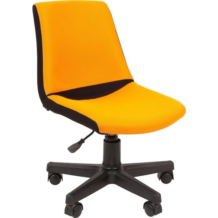 Кресло Chairman Kids 115 TW 11/TW 16 черно-оранжевый