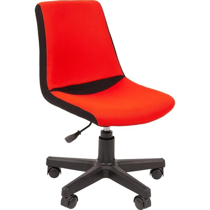 Кресло Chairman Kids 115 TW 11/TW 19 черно-красный