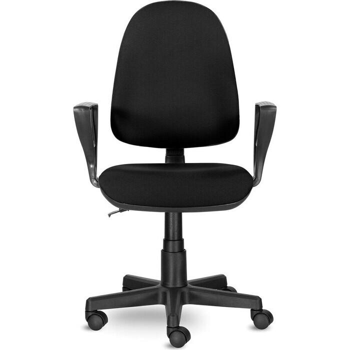 Кресло Brabix Prestige Ergo MG-311 регулируемая эргономичная спинка/кожзам черное 531877