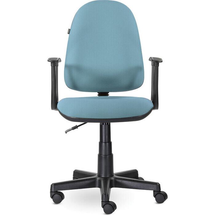 Кресло Brabix Prestige Start MG-312 эргономичная спинка/ткань бирюзовое 531921