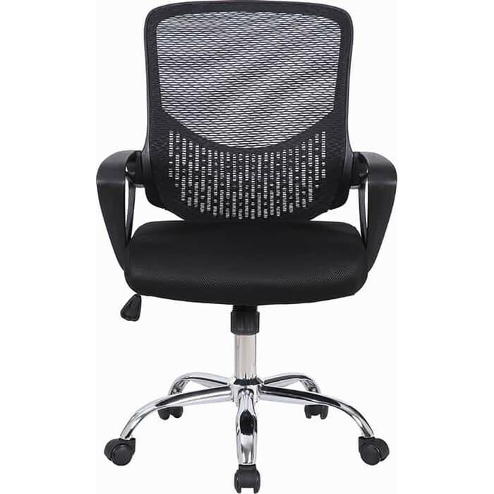 Кресло Brabix Next MG-318 с подлокотниками/хром черное 531834