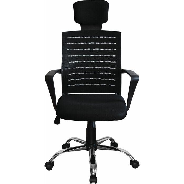 Кресло Brabix Victory MG-016 подголовник хром черное 531924