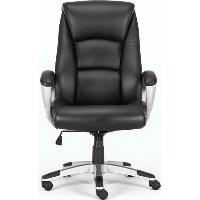 Фото - Кресло офисное Brabix Grand EX-501 рециклированная кожа черное Premium 531950 кресло офисное brabix status hd 003 рециклированная кожа хром черное 531821
