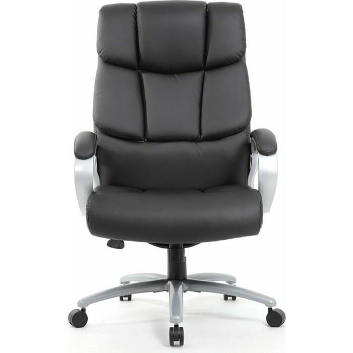 Кресло офисное Brabix Blocks HD-008 экокожа серое Premium 531944