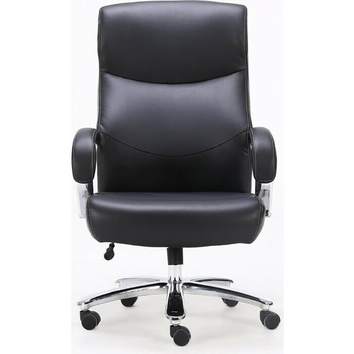 Кресло офисное Brabix Total HD-006 экокожа/хром черное Premium 531933