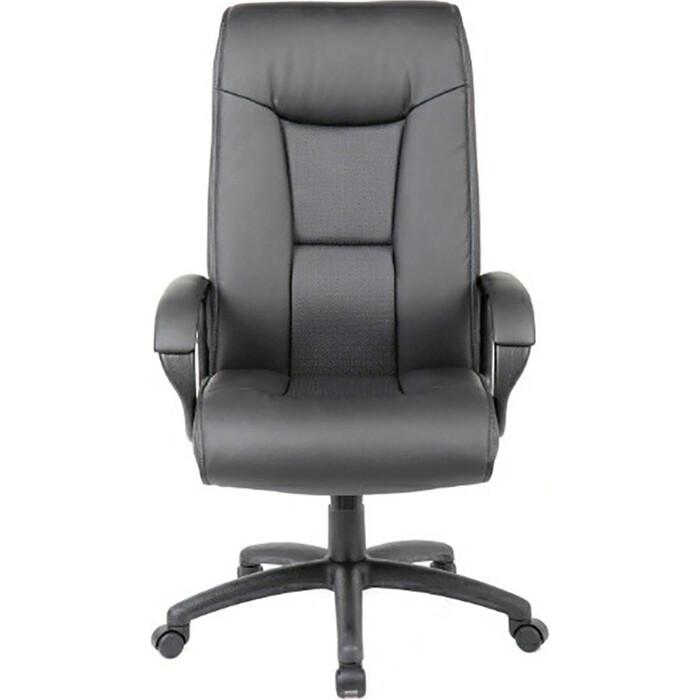 Кресло офисное Brabix Work EX-513 экокожа черное Premium 531943 кресло офисное brabix rest ex 555 пружинный блок экокожа черное premium 531938