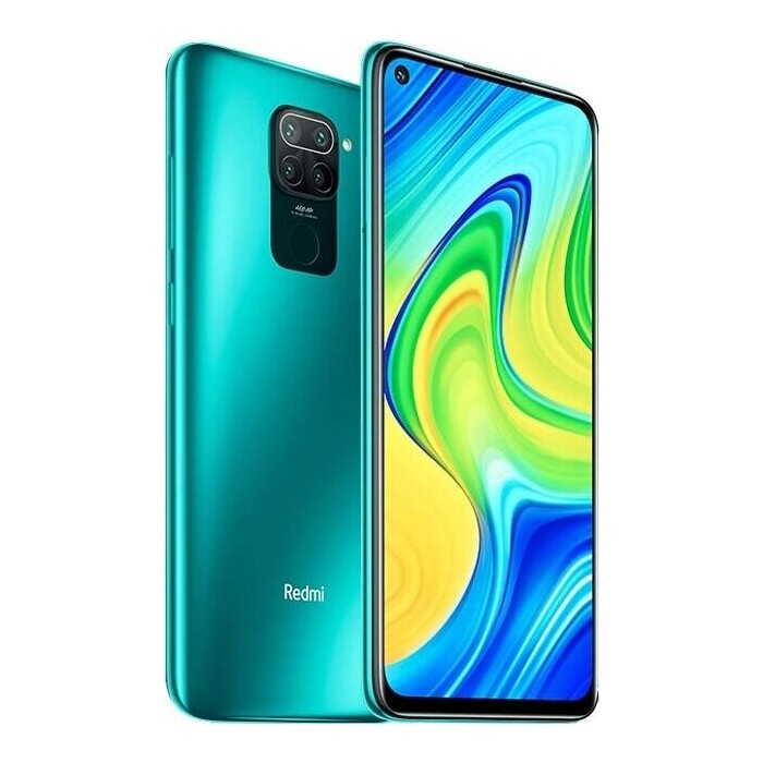 Смартфон Xiaomi Redmi Note 9 4/128Gb Green