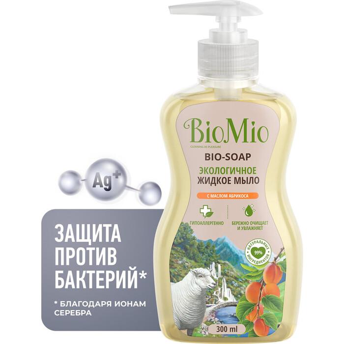 Жидкое мыло BioMio с маслом Абрикоса 300 мл