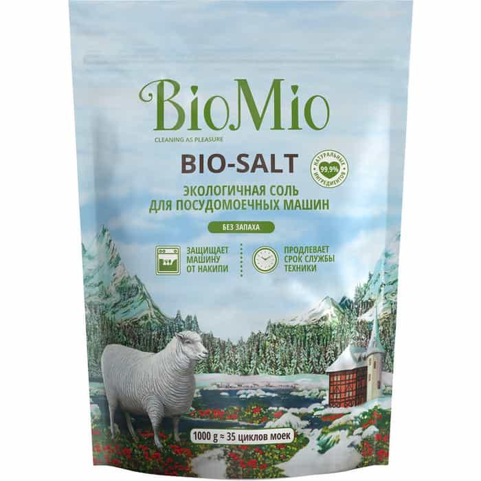 Соль для посудомоечной машины (ПММ) BioMio BIO-SALT 1 кг