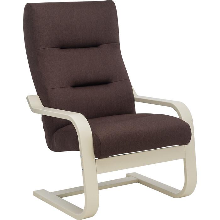 Кресло Leset Оскар Лайт слоновая кость, ткань Монтана 100
