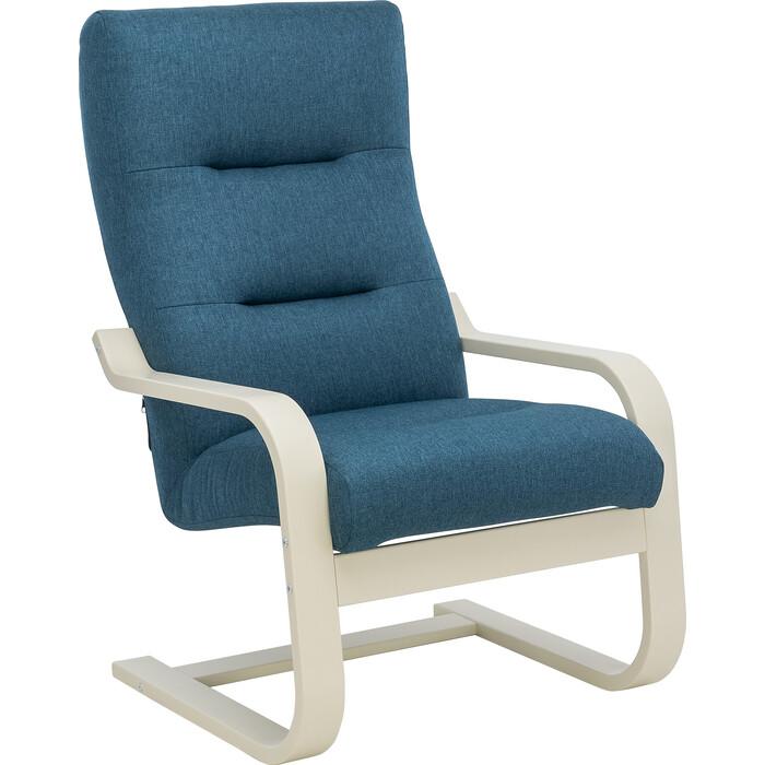 Кресло Leset Оскар Лайт слоновая кость, ткань Монтана 601