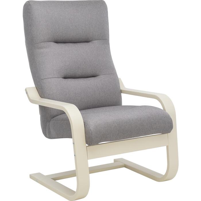 Кресло Leset Оскар Лайт слоновая кость, ткань Монтана 804