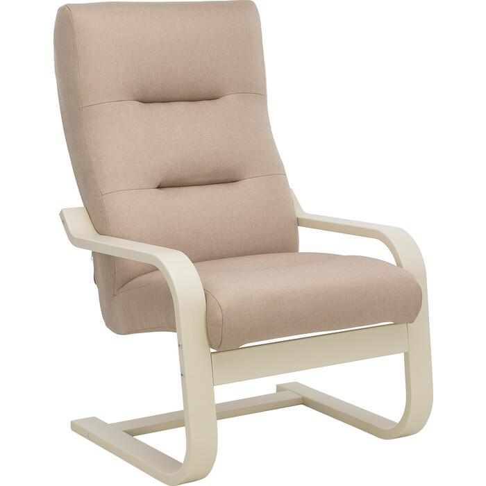 Кресло Leset Оскар Лайт слоновая кость, ткань Монтана 903