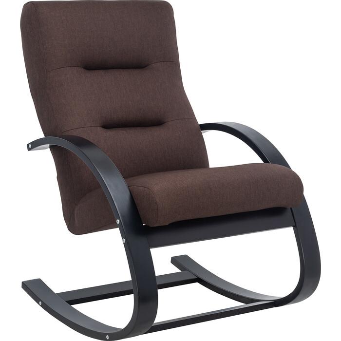 Кресло Leset Милано Лайт венге, ткань Монтана 100