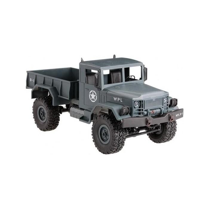 Радиоуправляемая машина WPL военный грузовик масштаб 1:16 + акб 2.4G WL Toys B-14-GR
