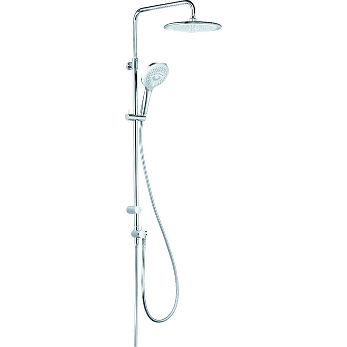 Душевая система Kludi Freshing Dual Shower System без смесителя, хром (6709005-00)