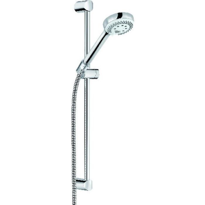 Душевой гарнитур Kludi Logo 3S с ручным душем, хром (6836005-00)
