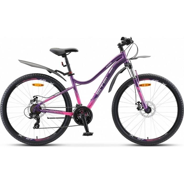 Велосипед Stels Miss-7100 MD 27.5 V020 16 Пурпурный