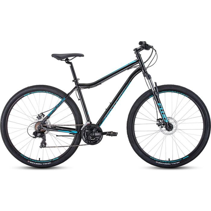 Велосипед Forward SPORTING 29 2.0 disc (рост 17) 2019-2020, черный/бирюзовый