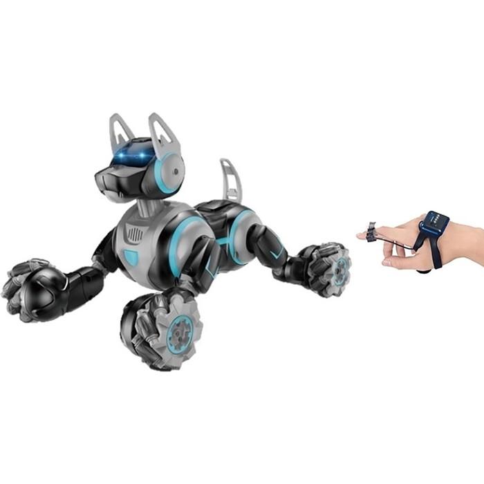 Робот собака-перевертыш CS Toys Dog с пультом в виде наручных часов - 666-800А